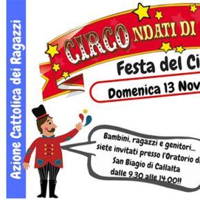 ACR: Festa del Ciao! domenica 13 novembre