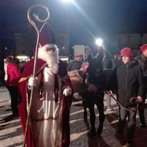 L'arrivo di San Nicolò nella nostra parrocchia di Salgareda!