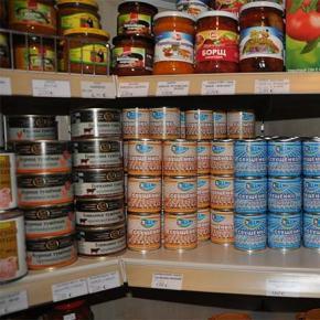 Benvenuto don Corrado e distribuzione pacco alimentare mese di ottobre