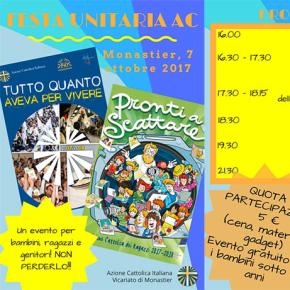 Festa Unitaria AC – sabato 7 ottobre 2017