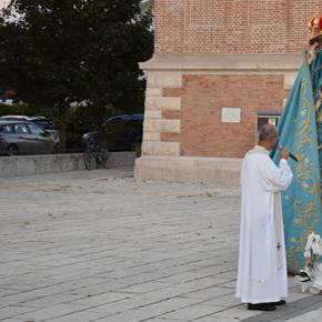 Santo Rosario in piazza per l'Assunta